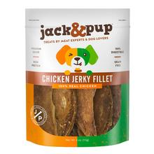 Jack & Pup Chicken Jerky Fillet Dog Treat