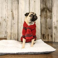 Jackson Dog Sweater - Berry Red