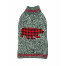 Jackson Novelty Dog Sweater - Gray Bear