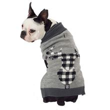 Jackson Novelty Dog Sweater - Gray Elk