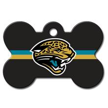 Jacksonville Jaguars Engravable Pet I.D. Tag - Bone