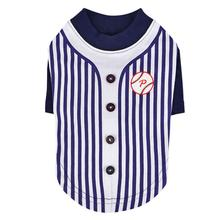 Major Baseball Dog Jersey by Puppia - Navy
