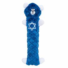 Jigglerz Hanukkah Dog Toy - Blue Bear