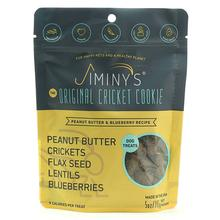 Jiminy's Cricket Cookie Peanut Butter & Blueberry Recipe Dog Treats