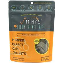 Jiminy's Cricket Pumpkin & Carrot Soft & Chewy Training Dog Treats