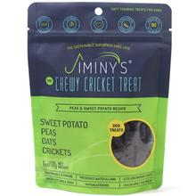 Jiminy's Cricket Sweet Potato & Peas Soft & Chewy Training Dog Treats
