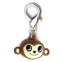 Jingle Monkey Dog Collar Charm