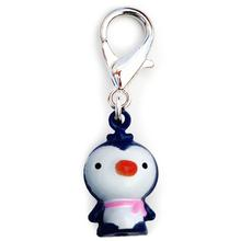 Jingle Penguin Dog Collar Charm