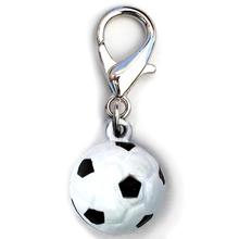 Jingle Soccer Ball Dog Collar Charm