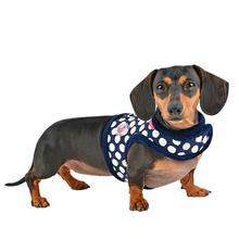 Joceline Jacket Dog Harness By Pinkaholic - Navy