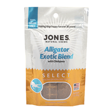 Jones Select Dog Treat - Alligator Exotic Blend