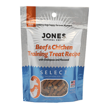 Jones Select Dog Treat - Beef & Chicken Training Treat Recipe