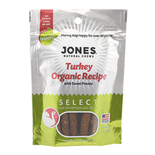 Jones Select Dog Treat - Turkey Organic Recipe