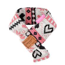 Joy Muffler Dog Scarf by Pinkaholic - Indian Pink