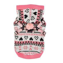Joy Winter Dog Hoodie by Pinkaholic - Indian Pink