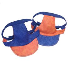 Joyful Bling Reversible Dog Visor - Blue and Orange