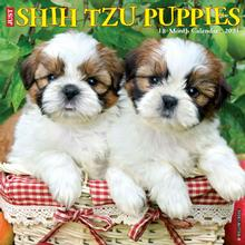 Just Shih Tzu Puppies 2021 Wall Calendar