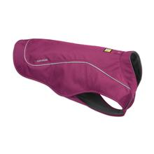 K-9 Overcoat Utility Dog Jacket by RuffWear - Larkspur Purple