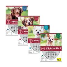 K9 Advantix II Flea and Tick Topical Dog Treatment - 4 Month Supply