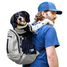 K9 Sport Sack Plus 2 Dog Backpack - Grey