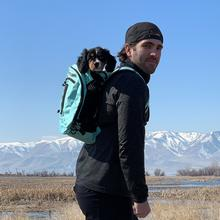 K9 Sport Sack Plus 2 Dog Backpack - Mint