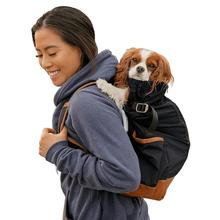K9 Sport Sack Urban 2 Dog Backpack - Black