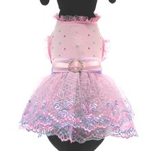 Kaelyn Party Dog Dress - Pink