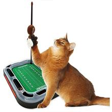 Kansas City Chiefs Football Field Cat Scratcher Toy
