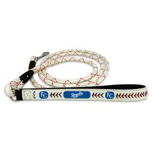Kansas City Royals Frozen Rope Leather Dog Leash