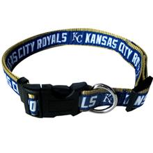 Kansas City Royals Officially Licensed Ribbon Dog Collar