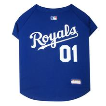 Kansas City Royals Officially Licensed Dog Jersey - Blue