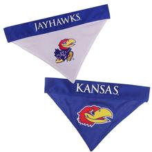 Kansas Jayhawks Reversible Dog Bandana Collar Slider
