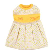 Karly Dog Dress by Pinkaholic - Yellow