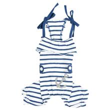 Saylor Dog Jumpsuit by Pinkaholic - Navy