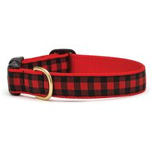 Buffalo Plaid Dog Collar by Up Country