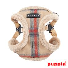 Kemp Adjustable Step-In Dog Harness by Puppia - Beige