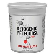 Ketogenic Pet Foods™ Beef Heart & Liver Cat & Dog Food