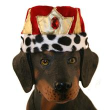 King Crown Hat Dog Costume