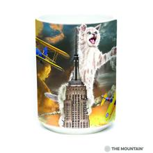 King Kitten Ceramic Mug by The Mountain