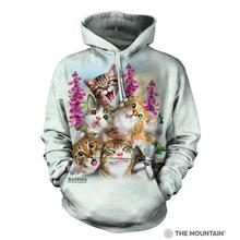 Kitten Selfie Human Hoodie by The Mountain