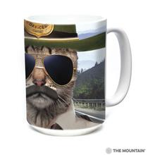Kitten Trooper Ceramic Mug by The Mountain