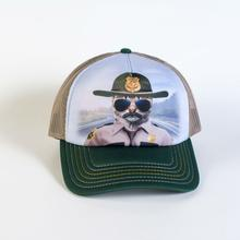 Kitten Trooper Trucker Hat by The Mountain