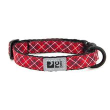 Kitty Breakaway Cat Collar - Red Tartan