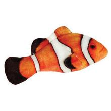 Kittybelles Clownfish Plush Fish Cat Toy