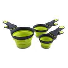 Collapsible KlipScoop by Popware - Neon Green
