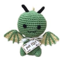 Knit Knacks Drogo the Dragon Organic Dog Toy