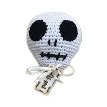 Knit Knacks Skully the Skull Dog Toy