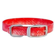 KOA Fish Dog Collar by Dublin Dog - Red Snapper