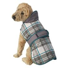 Kodiak Dog Coat - Aqua Plaid
