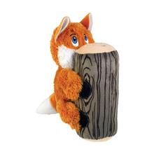 KONG Huggz Hiderz Dog Toy - Fox